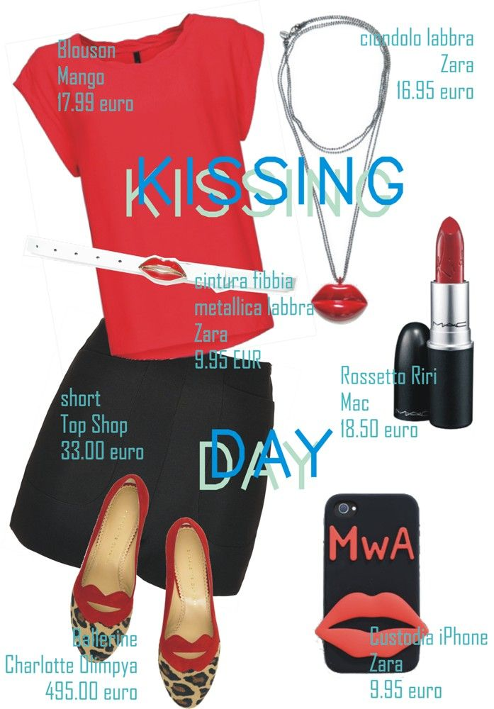 #34 || SS || KISSING DAY ‹ Blogging Fashion