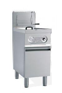 Friteuse à gaz sur coffre 12 litres