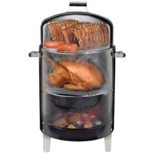 Brinkmann Smoke 'N Grill Charcoal Smoker and Grill-810-5302-S at The Home Depot