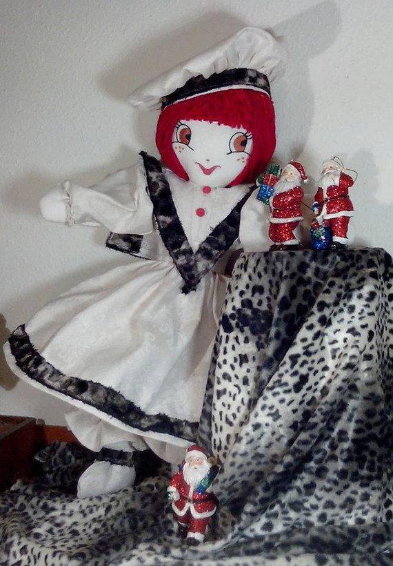 Poupée Vintage Romantique Shabby Chic par PoupeesCollection sur Etsy