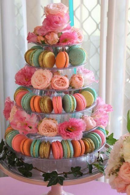 Pellmell Créations: Idées colorées pour un mariage gourmand