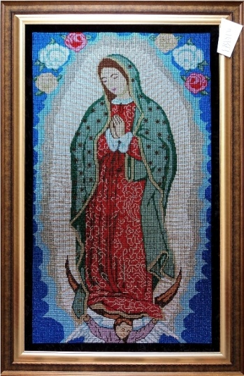 Homenaje a la Virgen de guadalupe
