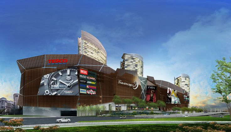 Paradigm Mall by Rspkl 3D Rendering