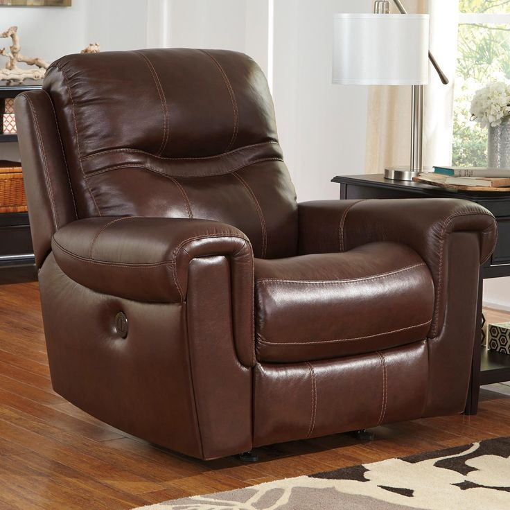 Power Rocker Recliner Casscoe Contemporary Leather Match Power Rocker Recliner by Signature Design by Ashley Part & 6579 best Furniture I Want images on Pinterest | Recliners ... islam-shia.org