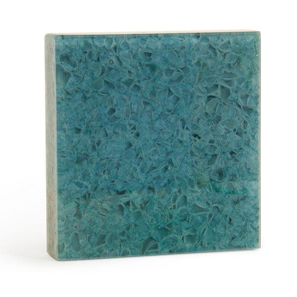 Crush - Amazonite | Architectural Glass Surfaces