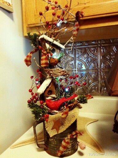 36 best Christmas Flour sifter decor images on Pinterest