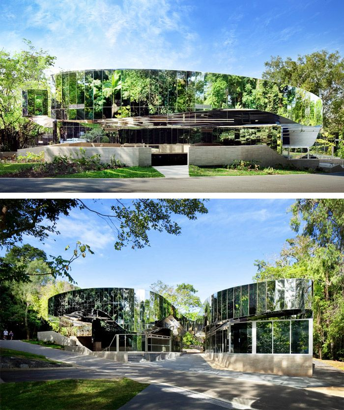 "A ""Green"" Building in All Senses︱Cairns Botanic Gardens Visitors' Centre ︱Far North Queensland, Australia︱Charles Wright Architects"