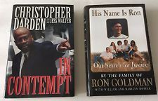 OJ Simpson Trial His Name is Ron Goldman In Contempt Chris Darden Hardcover Book in Books, Nonfiction | eBay