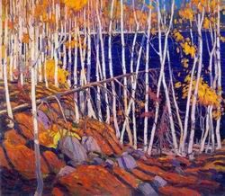 Tom Thomson painting: In the northland