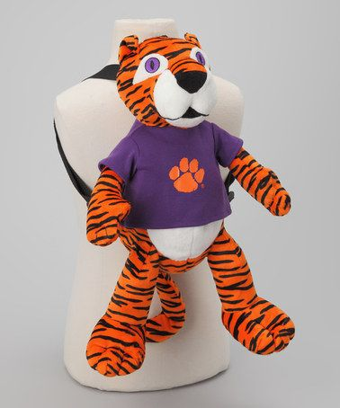 Take a look at this Clemson Mascot Backpack by TeamHeads on #zulily today!