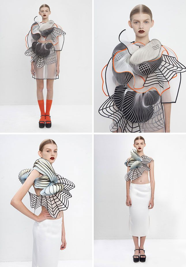 The Most Gorgeous 3D Printed Clothing Ever from Noa Raviv