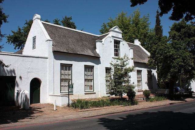 Cape Dutch house, Stellenbosch by Kleinz1, via Flickr