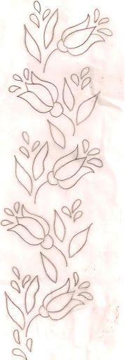 Nakış Tulips