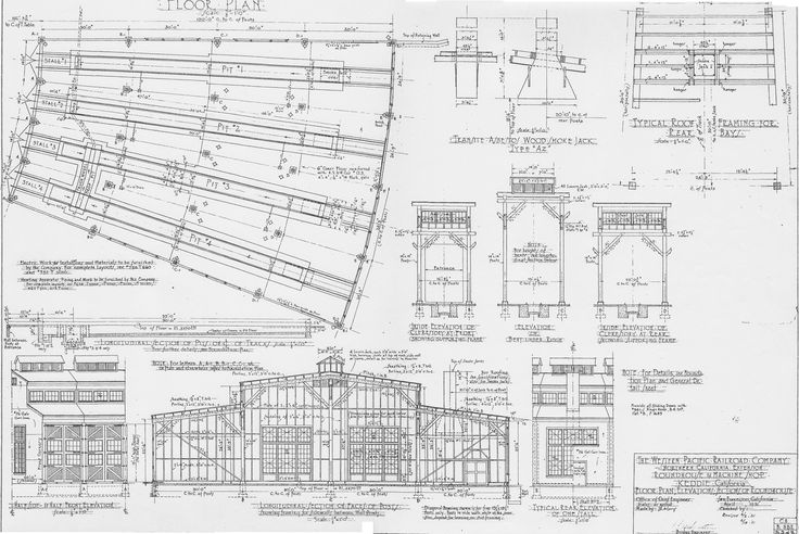 for Railroad depot plans