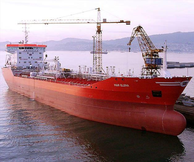 Buque de carga tanque químico 18.500 DWT | MAR ELENA Factorias Juliana, S.A.U.