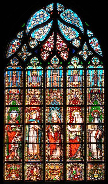 Église Notre-Dame des Victoires au Sablon à Bruxelles