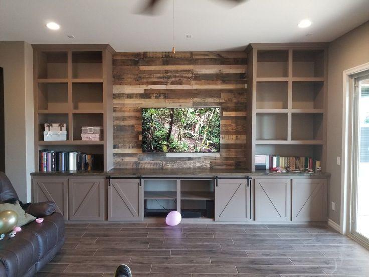 Farmhouse entertainment center built in tripledigit wood
