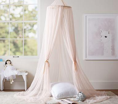 Glitter Tulle Canopy #pbkids