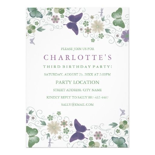 11 best Birthday invitation suites images on Pinterest Invitation - best of invitation birthday party text