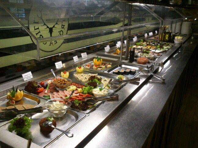 Nice buffet selection @ Trofea Grill Kiraly u