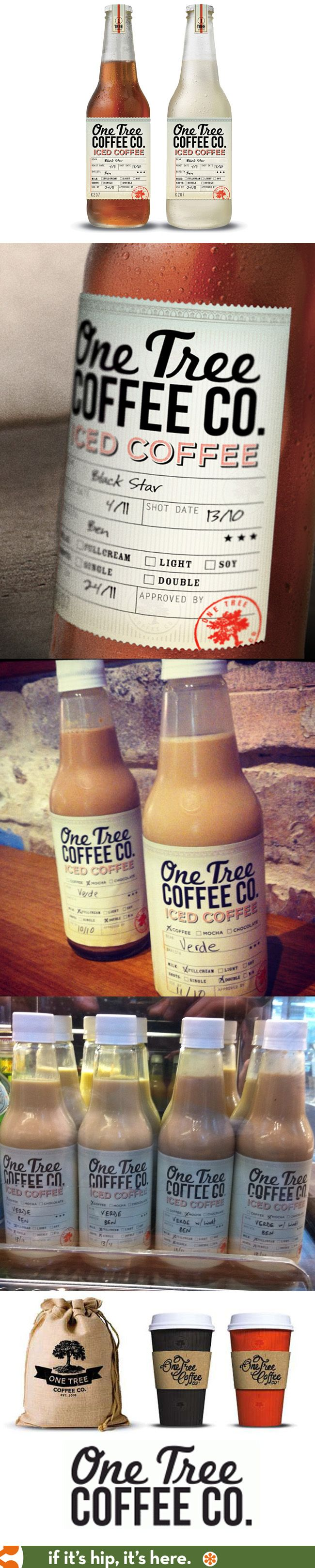logo, labels and packaging for Australia's One Tree Coffee Company