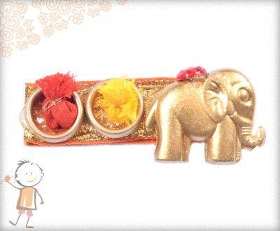 Buy online Rakhi Thali - Buy Traditional Rakhi Thali, Send Rakhi Thali to India ~ Designer - bablarakhi.com