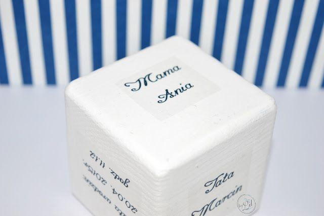 Kapitański kufer skarbów Ignasia - prezent na Chrzciny