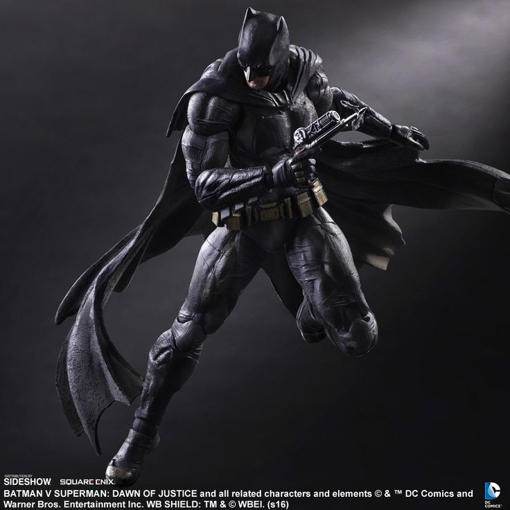 The Batman Collectible Figure by Square Enix is now available at Sideshow.com for fans of DC Comics and Batman V. Superman: Dawn of Justice.