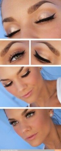 Look like a gorgeous summer model. The perfect summer date look. Also works for an every day impressive look.