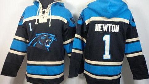 Cam Newton Sawyer Blue Carolina Panthers pullover Hoodie
