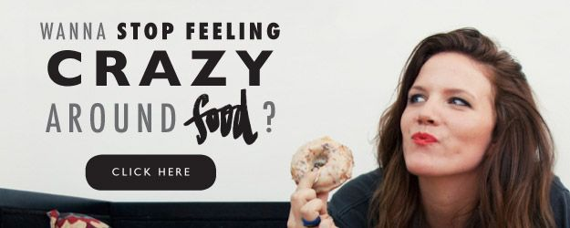 I help women stop feelingcrazy around food. You know what I mean… a points-counting, scale-weighing, tunic-wearing crazy person around food. And if you're like 90% of dieters, a chronic emotional eater and and binge-eater to boot. Feeling like a crazy person around food is not cute, and does not feel good. Trust me, I would …