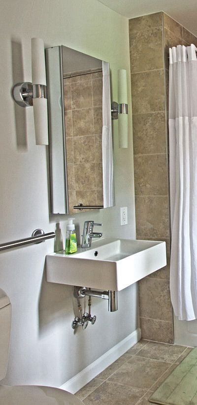 84 Best Images About Handicapped Bathrooms On Pinterest Wall Mount Contemporary Wall Sconces