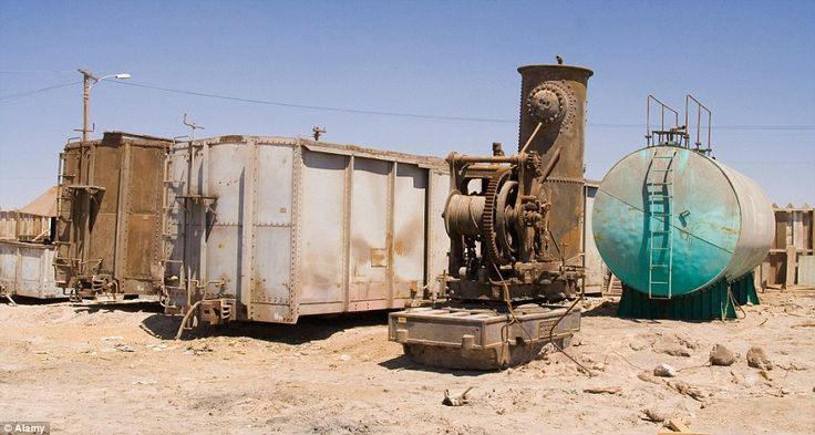 By the 1930s, a synthetic nitrate, developed in Europe, more or less wiped out the bustling industry. Production fell to 10 per cent in Humberstone and by the 1950s it nosedived to just 3 per cent