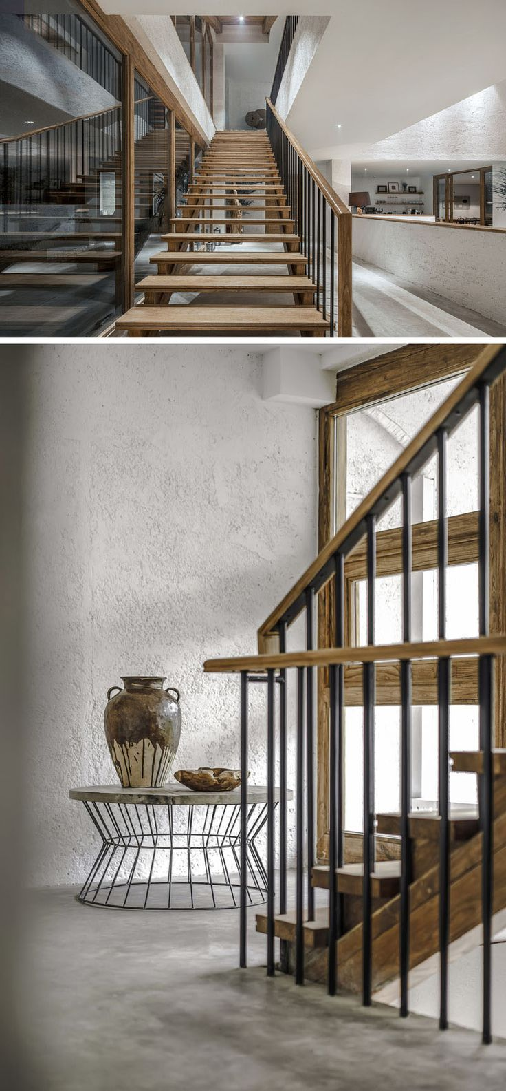 The Pure House Boutique Hotel By Yueji Architectural Design Office. Stair  ShelvesInterior ...