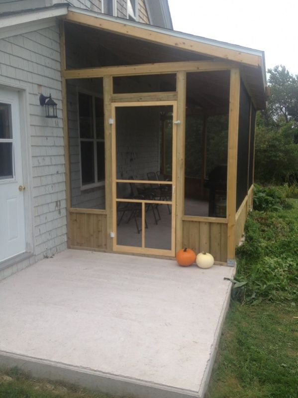 Enclosed porch decorating ideas porch gray paint used for Enclosed back porch ideas