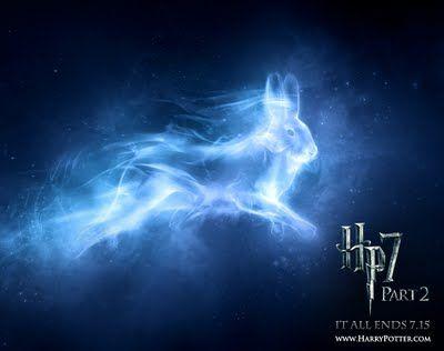 "Magic: ""Expecto Patronum"" Luna Lovegood's Patronus by allisonpotter #HarryPotter"