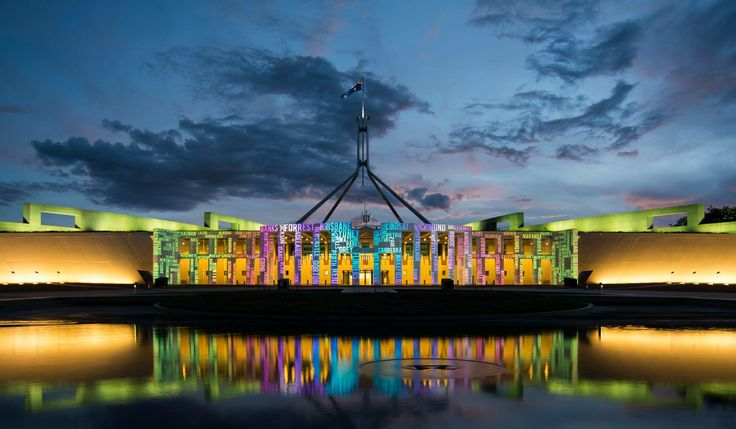 Australia's Parliament House looking awesome!
