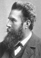 1895 Découverte du rayon X. Wilhelm Conrad Röntgen. [Les éphémérides d'Alcide]