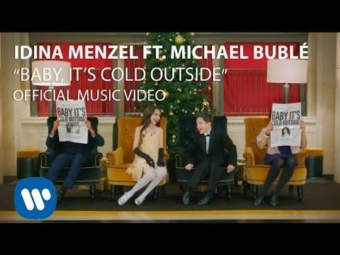 "Idina Menzel And Michael Bublé's Kid Rendition Of ""Baby It's Cold Outside"" Will Get You In The Holiday Spirit"