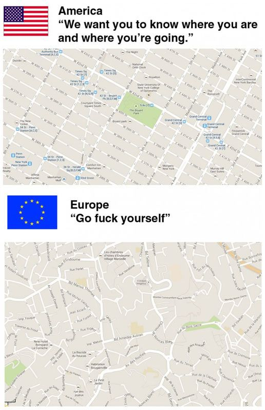 Best Europe Mix Images On Pinterest Europe Animals And Funny - Us vs europe map
