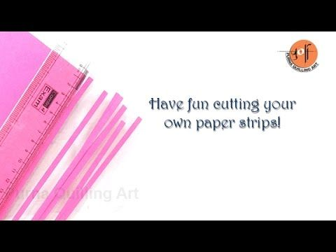 Quilling Flowers Tutorial: Quilling flower and Leaf wiht a comb tutorial. Creative Paper. - YouTube