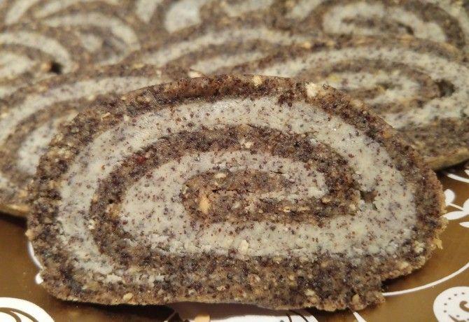 Mákos keksztekercs