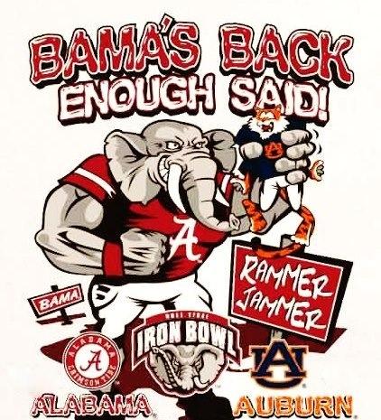 Bama back!!