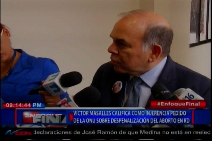 Víctor Masalles Califica Como Injerencia Pedido De La ONU Sobre Despenalización Del Aborto En El País