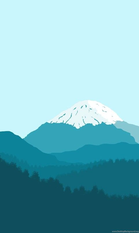 Minimal Mountain Wallpaper Minimalist Wallpaper Iphone