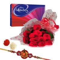 Rakhi Roses & Celebration this Rakhi