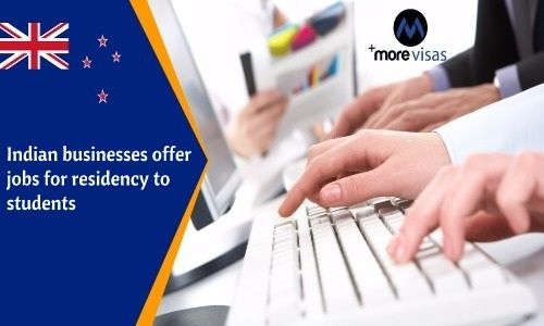 Indian Businesses Offer Jobs for Residency to Students. Read more... https://goo.gl/AgvTZM   #MoreVisas #Jobs #Students #joboffer #work  https://www.morevisas.com/immigration-news-article/indian-businesses-offer-jobs-for-residency-to-students/5219/