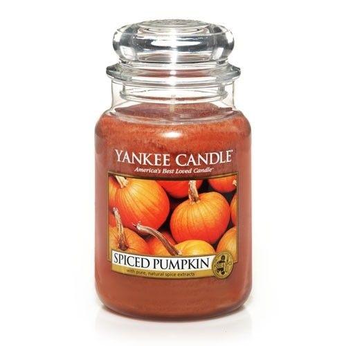 Yankee Candle Large Jar - Spiced Pumpkin