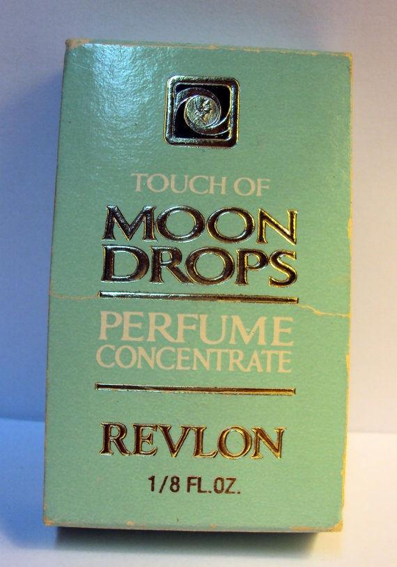 Revlon Moon Drops Perfume Concentrate 1/8 fl oz Full Bottle with Box Vintage…