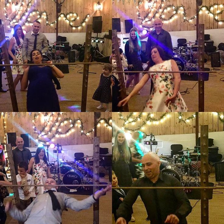 Our new limbo dance game was great fun at last night's wedding - who doesn't like a bit of #limbo?  #howlowcanyougo - who will win our #howlowcanyougochallenge?